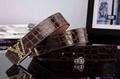 high quality belts brown belt real leather LV belt