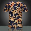 2015 Newest style burberry  t shirt men shirt versace shirt shirts short sleeves 8