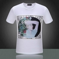 2015 Newest style burberry  t shirt men shirt versace shirt shirts short sleeves