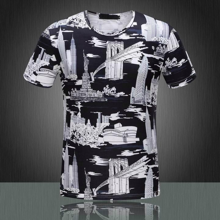 2015 Newest style burberry  t shirt men shirt versace shirt shirts short sleeves 14