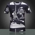 2015 Newest style burberry  t shirt men shirt versace shirt shirts short sleeves 18