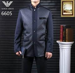 1:1 hot sale  jackets armani men Coats fashion outerwear prada down jacket