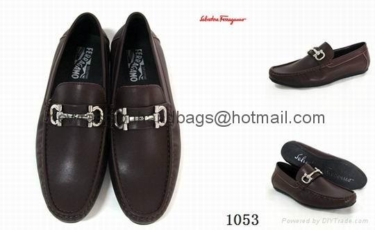 Ferragamo men shoes leather loafers