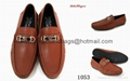 Ferragamo  mens causual shoes Ferragamo  loafers  Man leather business shoes