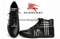 2018 new style mens sneakers hi boots  Man shoes burberry  boots
