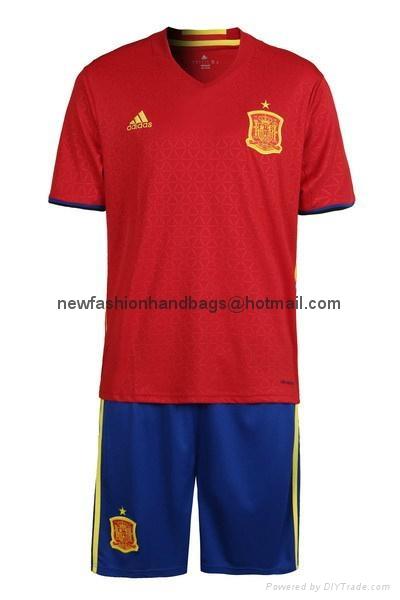 spain jersey soccer cloths
