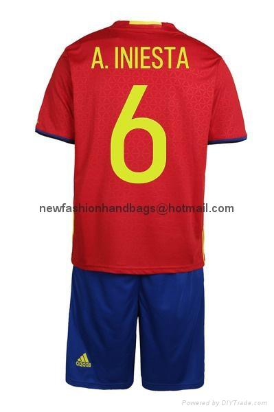 2016 European cup soccer jersey spain teams sport jerseys football jersey 12
