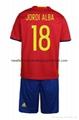 2016 European cup soccer jersey spain teams sport jerseys football jersey 13