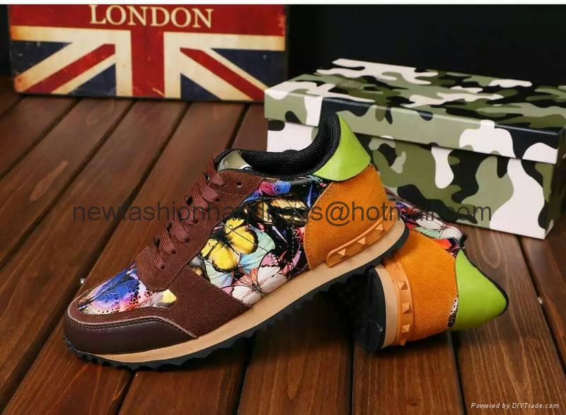Valentino Camouflage Sneaker  camo shoes men sneakers