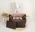 top quality  Louis Vuitton LV handbags women leather bags purse shoulderbags 7