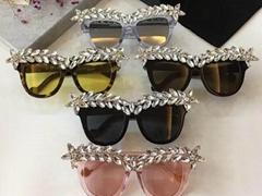 2018 new style Glasses 100% sunglasses  armani glasses sun glasses