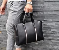 top sale prada Handbags men business bags purse leather bags