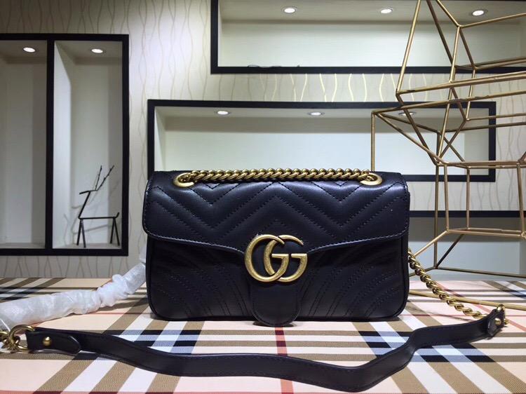 3f55a39d7 ... 2018 NEW Gucci handbags men handbag gucci backpack women shoulder bagss  ...