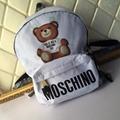 Moschino Cigarette Burn Backpack White women fashion handbag