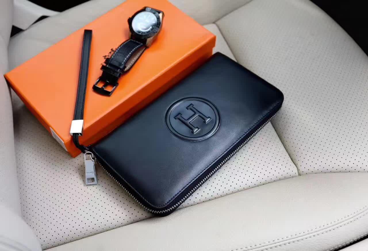 Hermes purses Hermes men's bag women's handbags Hermes wallet