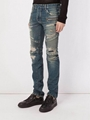 Balmain long jeans man  trousers fashion  pant Balmain jeans