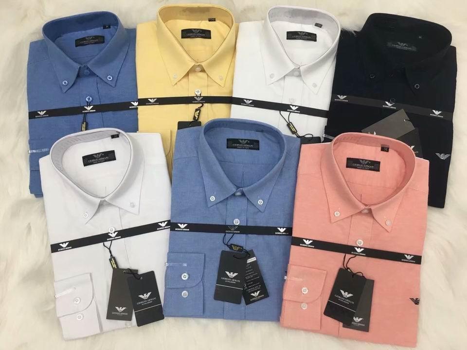 Top sale armani men shirts hot sale business shirts t shirts hot sale
