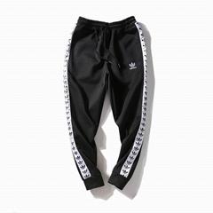 Wholesale suit top quality Adidas Pure cotton trousers Adidas pants men clothes