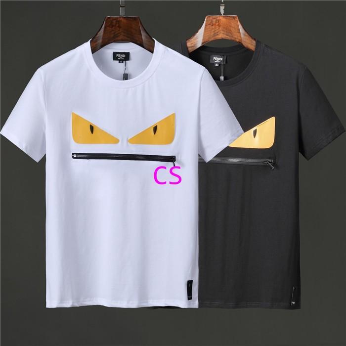 Newest style fendi  t shirt men shirt  fendi shirt shirts short sleeves 1