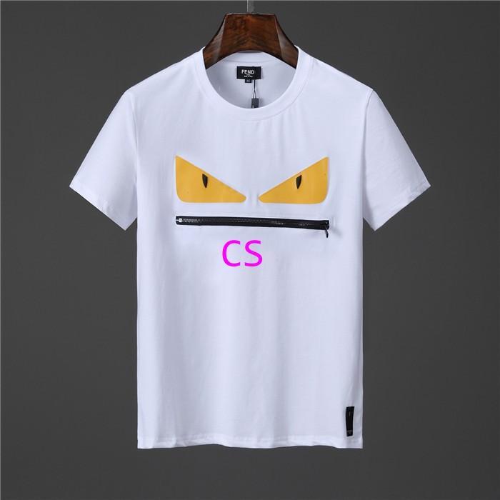 Newest style fendi  t shirt men shirt  fendi shirt shirts short sleeves 2