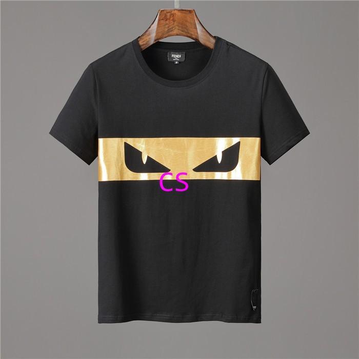 Newest style fendi  t shirt men shirt  fendi shirt shirts short sleeves 3