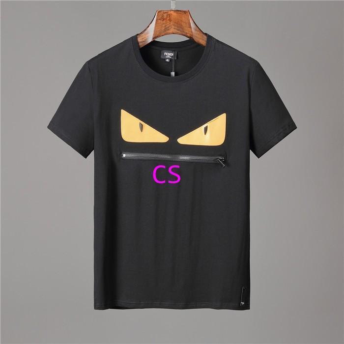 Newest style fendi  t shirt men shirt  fendi shirt shirts short sleeves 5