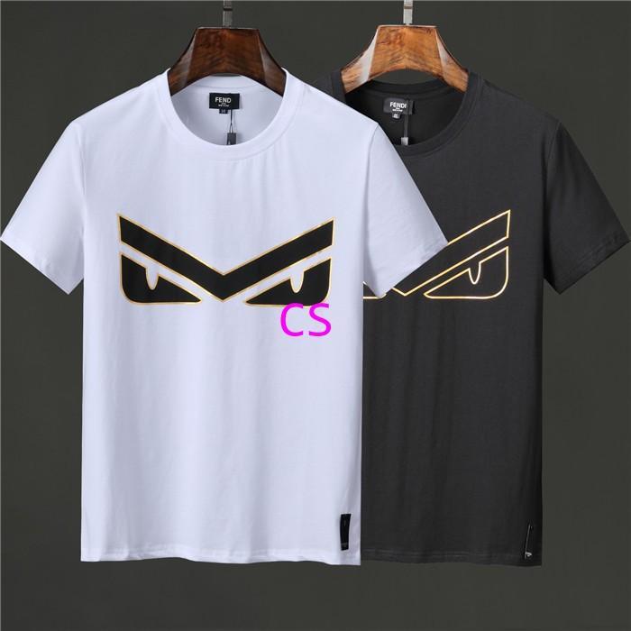 Newest style fendi  t shirt men shirt  fendi shirt shirts short sleeves 7