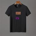 Newest style fendi  t shirt men shirt  fendi shirt shirts short sleeves 11