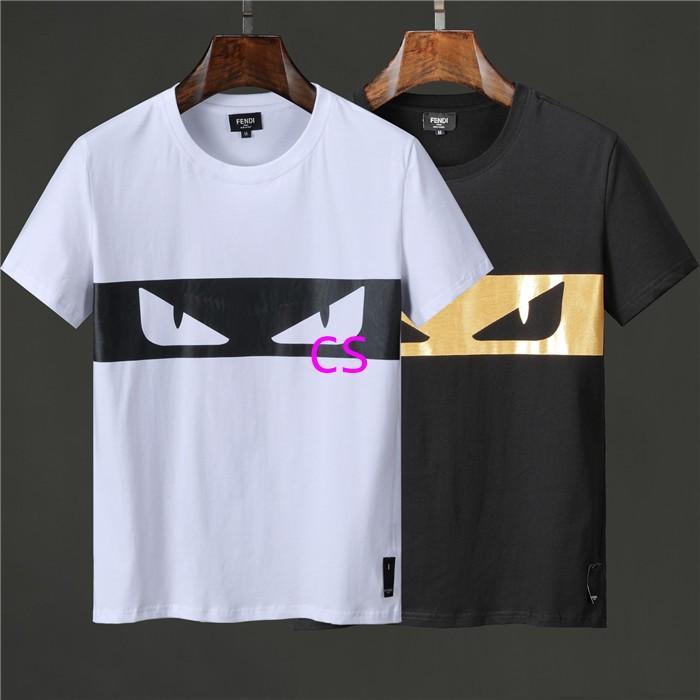 Newest style fendi  t shirt men shirt  fendi shirt shirts short sleeves 12