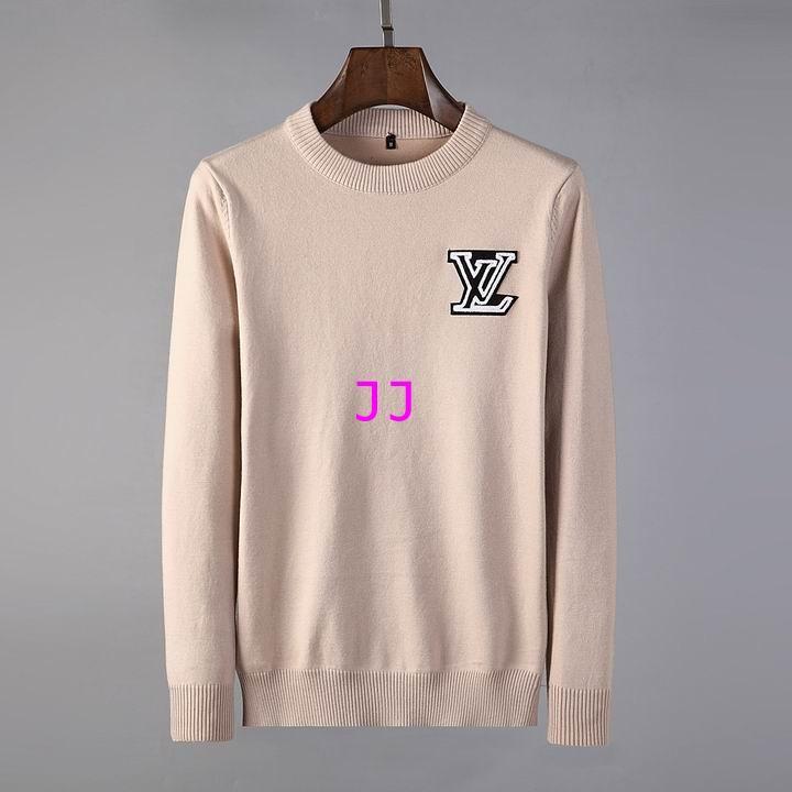 Louis Vuitton Mens Crewneck brown wool Sweater