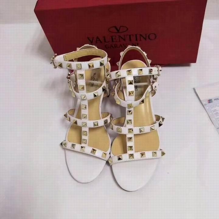 women shoes Studded Sandal Slippers           Rockstud Flats  8