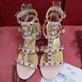 Valentino women shoes Studded Sandal Slippers Valentino Rockstud Flats