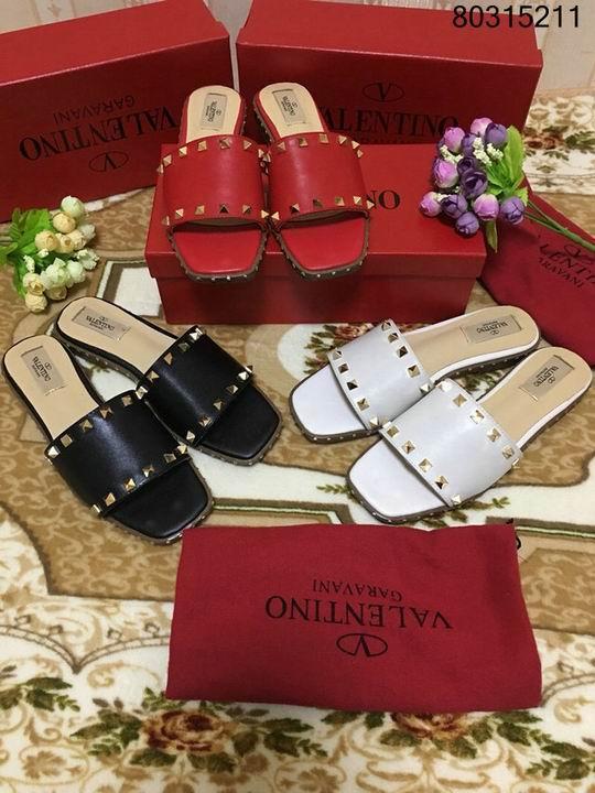 women shoes Studded Sandal Slippers           Rockstud Flats  11