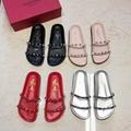 women shoes Studded Sandal Slippers           Rockstud Flats  18