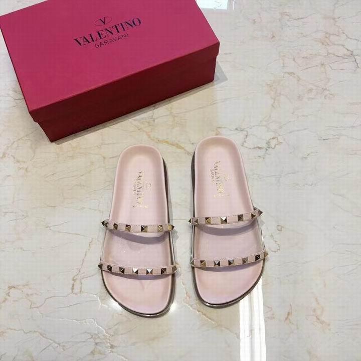 women shoes Studded Sandal Slippers           Rockstud Flats  19