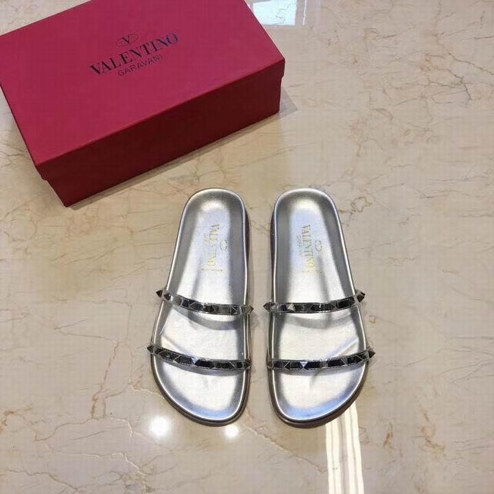 women shoes Studded Sandal Slippers           Rockstud Flats  20