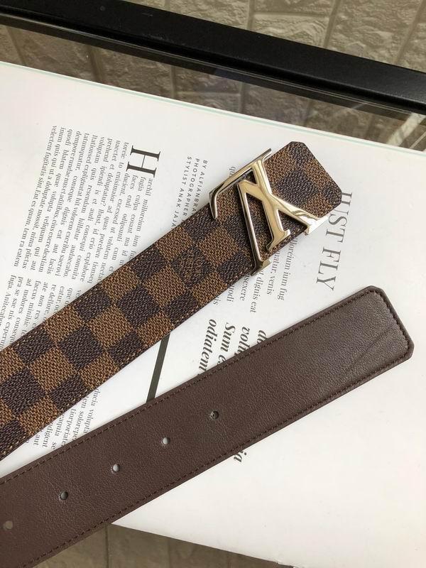 Brown men leather belts