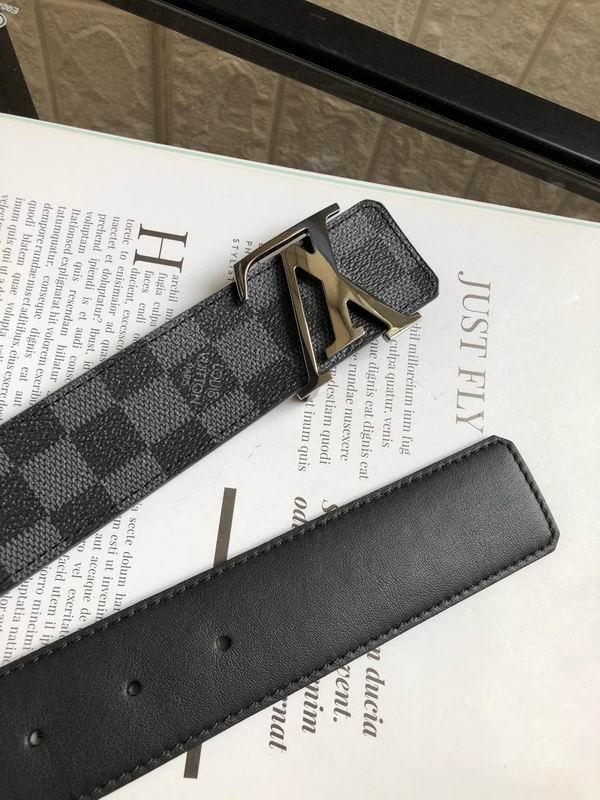 Louis Vuitton Mens Belts Supermax Perfect LV Belts Leather Belts 1:1 Quality