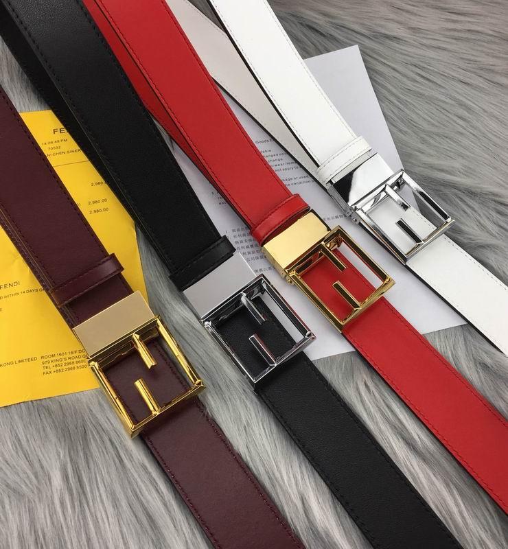 Fendi Belt 1:1 good quality leather belt fashion belt