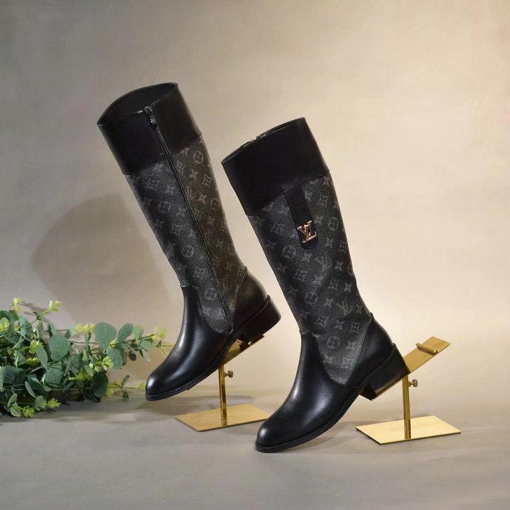 LV long boot lv snow boot Louis Vuitton high heel Women shoe LV sneaker ubingles