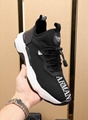 new armani shoes vest black sneakers