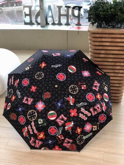 louis vuitton catogram umbrella Orange Brown lv umbrella