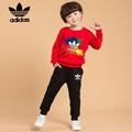 t0p sale  adidas Children kids Classic Tracksuits  Sports suits sets
