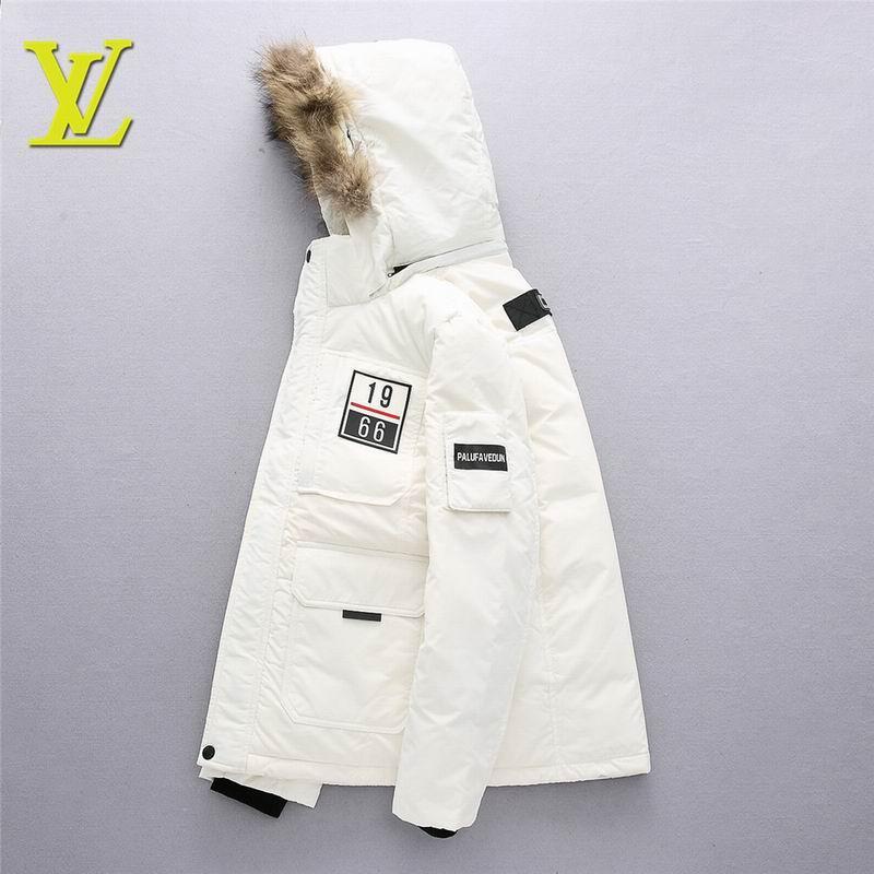 Lv down coat  white coats men down jackets