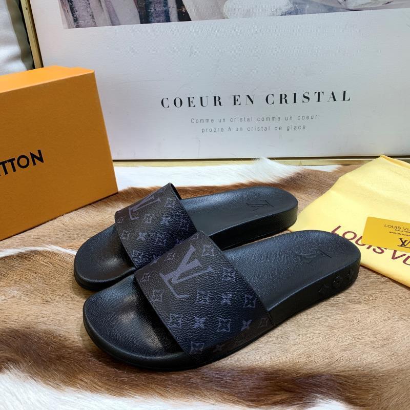 LOUIS VUITTON men's Sandals LV slippers LV sandals LV FLIP FLOPS ON SALE
