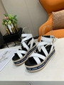 high quality Louis Vuitton slippers plush slippers LV sandals flip flops shoes