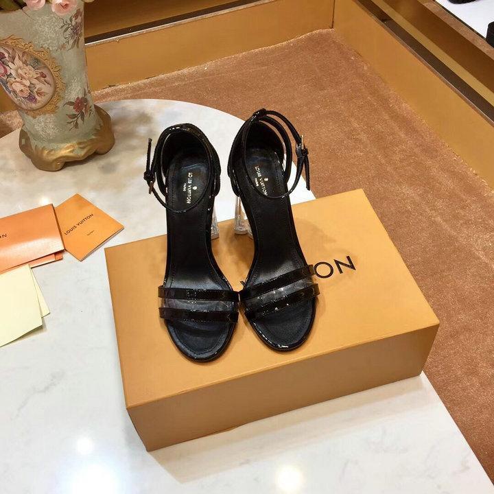 LV slipper LV Honolulu mule LV flat sandals Nomad sandal LV high heel