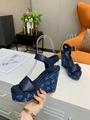 Louis vuitton sandals Lv wedges Lv slingbacks Lv shoes Lv sandals blue shoes