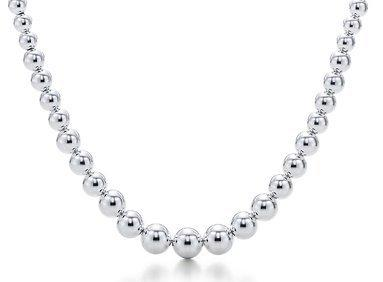 tiffany pearl necklace silver jewelry