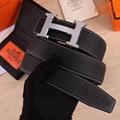 Hermes belt original edition Hermes Orange Leather Reversible Hammered H belts